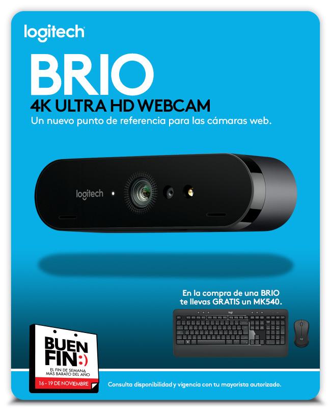 Aviso BRIO - Website - Logitech