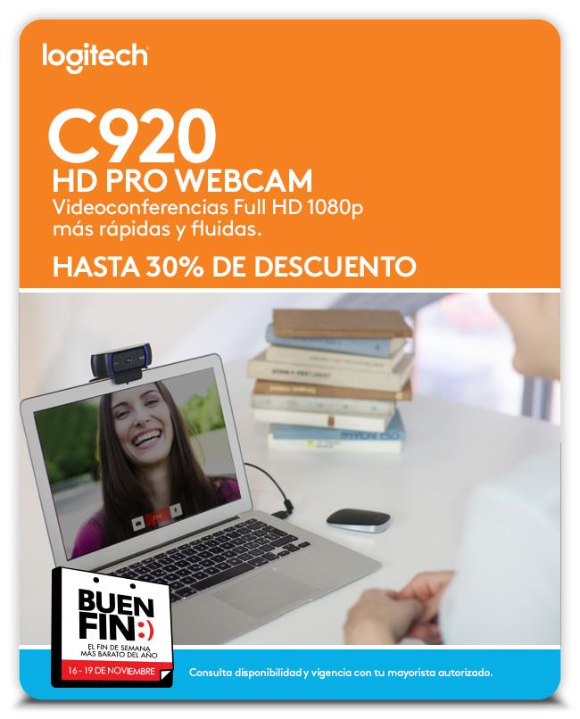 Aviso C920 - Webcam - Logitech