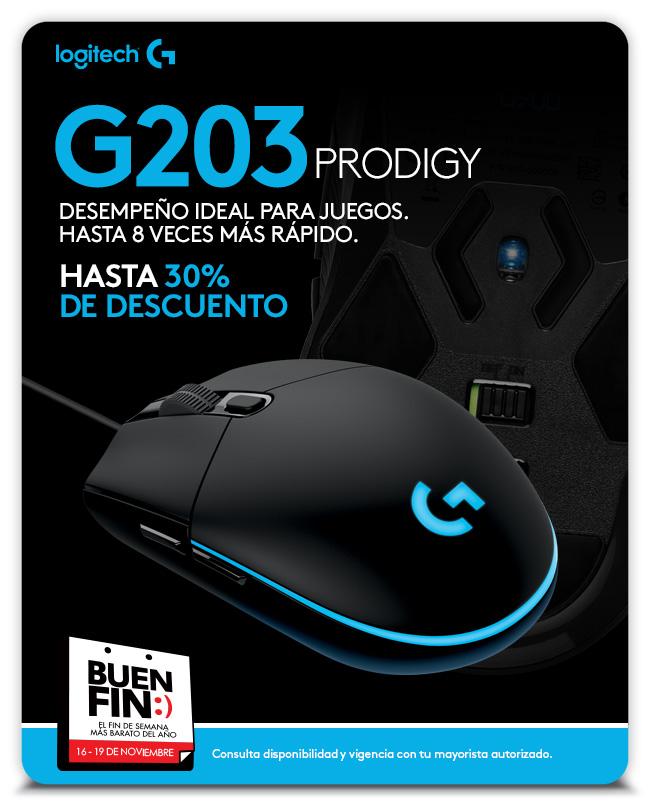 Aviso G203 - Mouse para Gaming - Logitech G