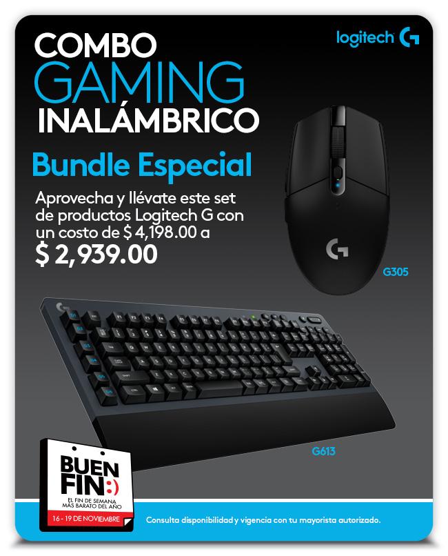 G305 - G613 - Combo inalámbrico para Gaming - Logitech G