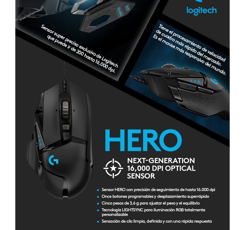 Tecnologia HERO - Logitech
