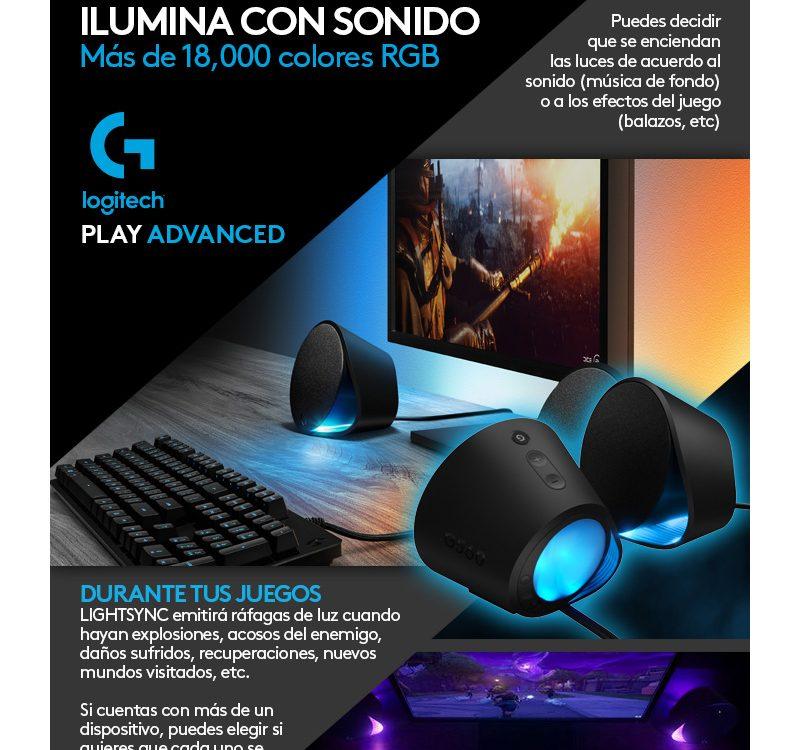 Tecnologia LIGHTSYNC - Logitech