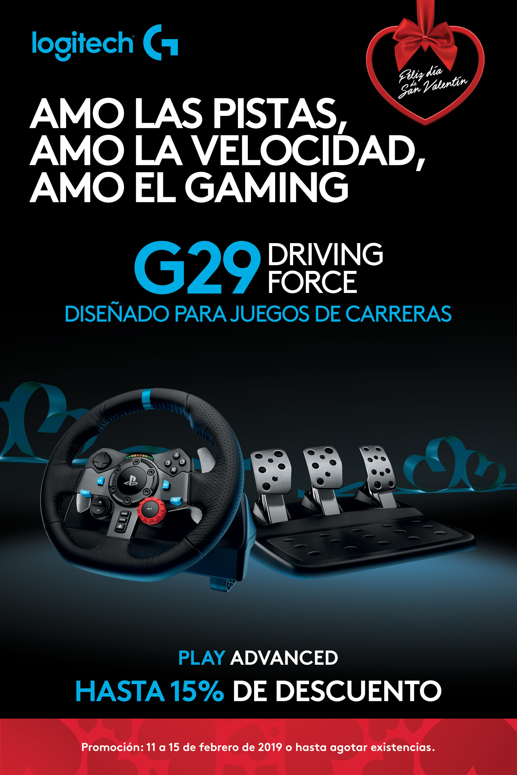 G29 - Driving Force - Logitech G