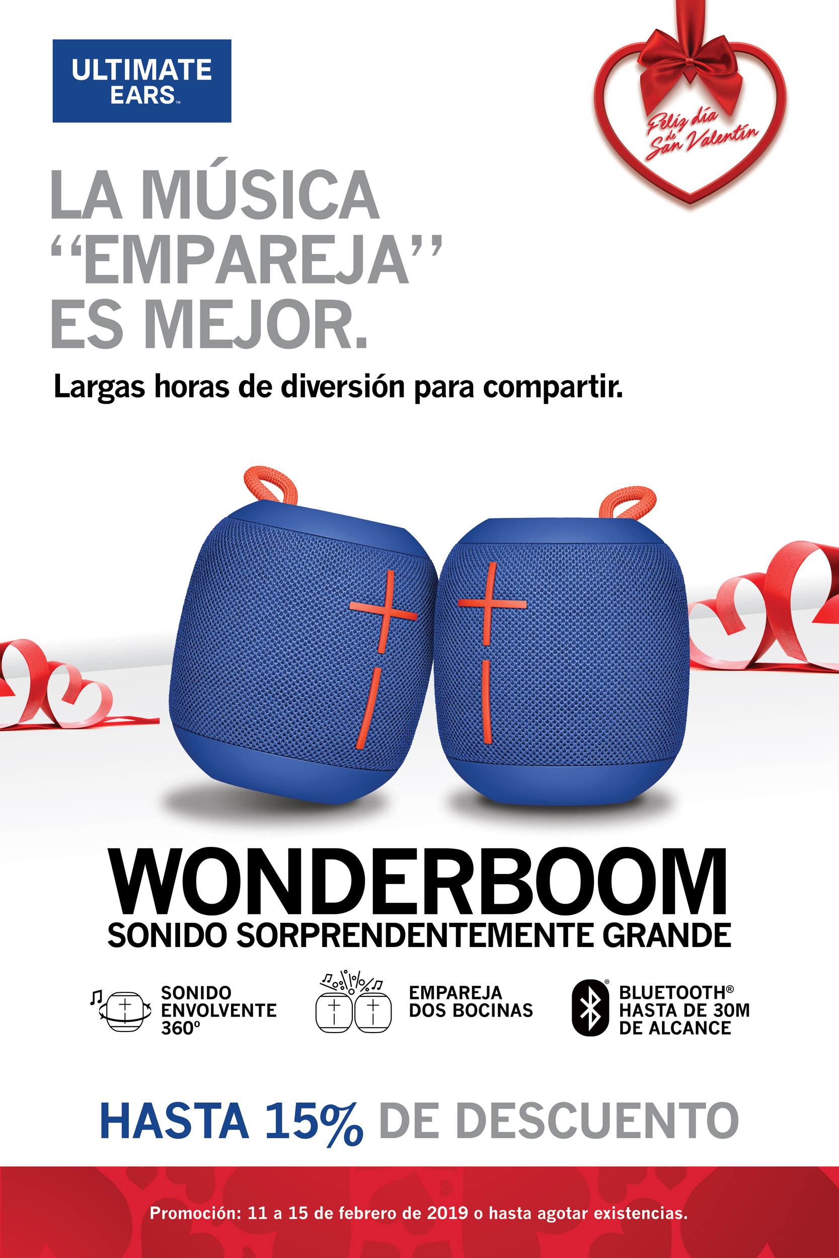 Promo Wonderboom azul - Bocinas portátiles - Ultimate Ears