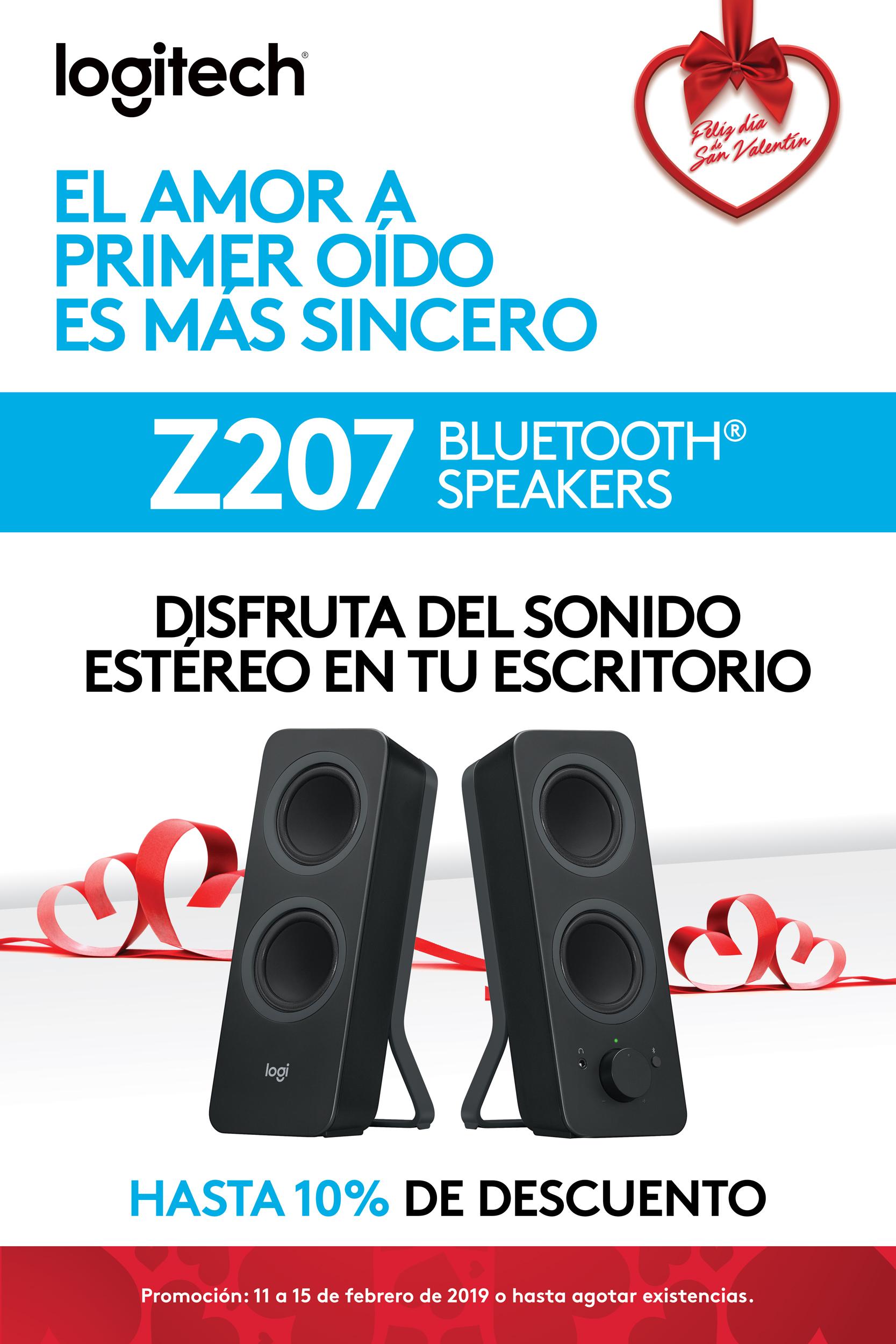 Promo Z207 - Bluetooth Speaker - Logitech