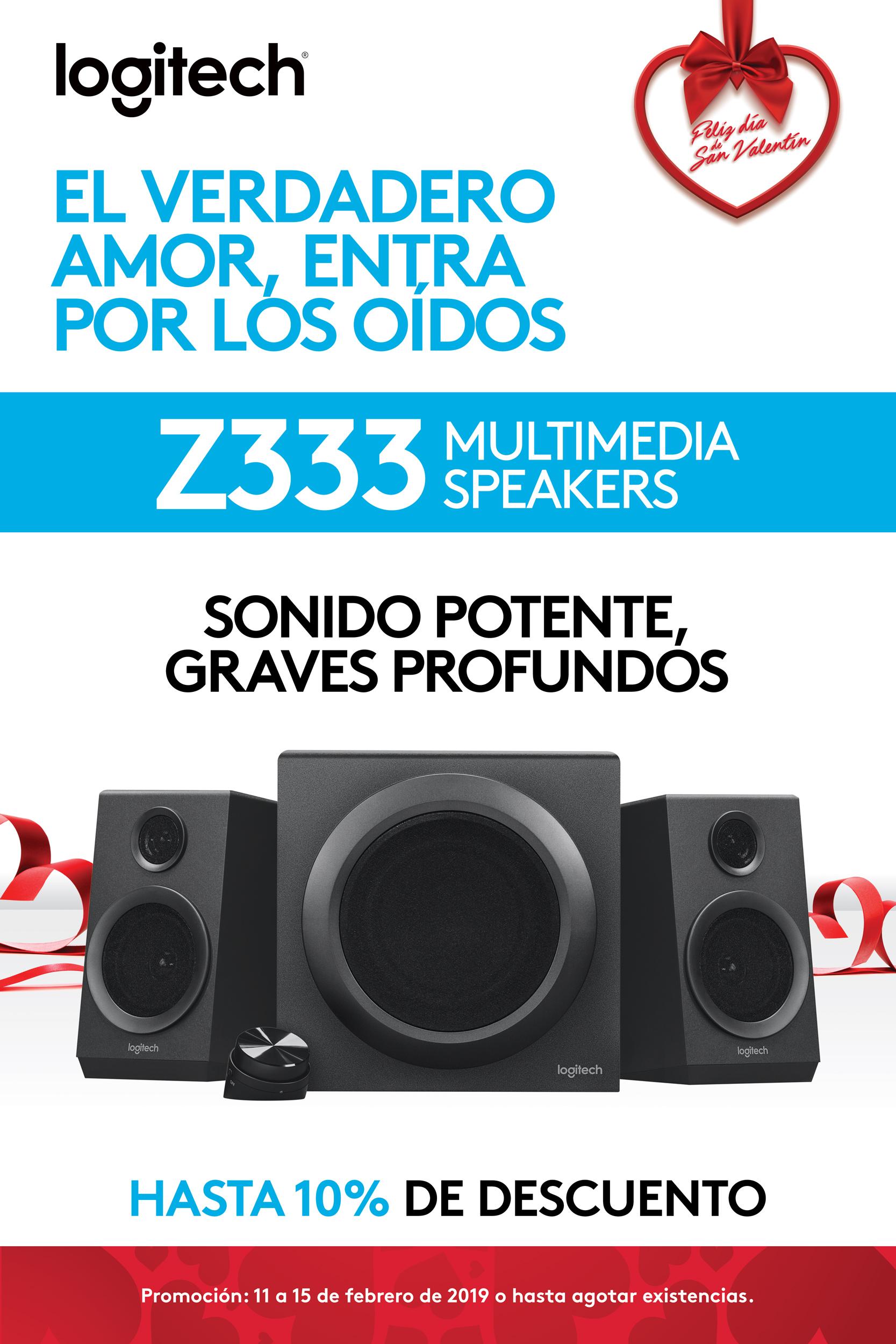 Promo Z333 - Bocinas multimedia - Logitech