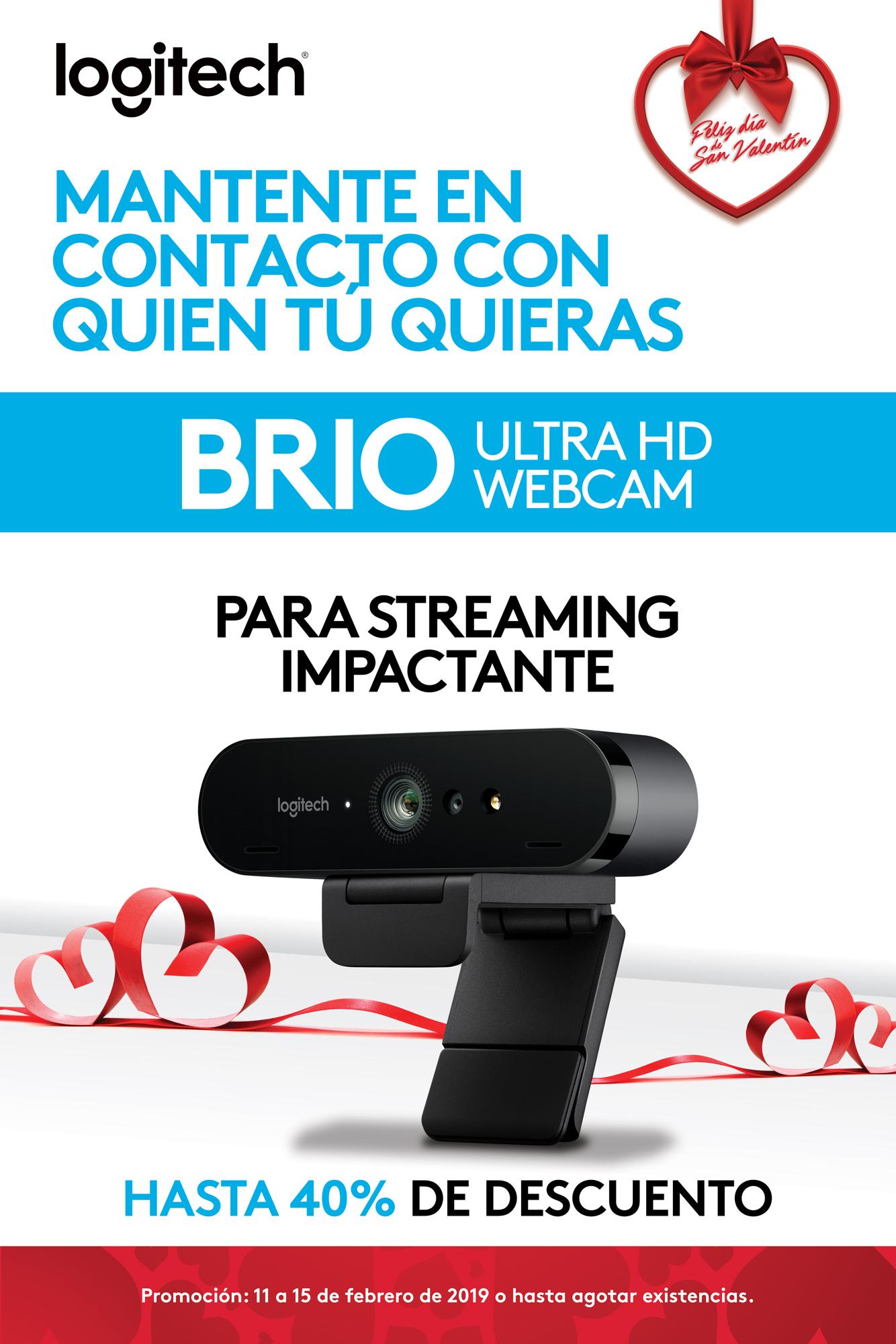 Promo BRIO - Webcam - Logitech