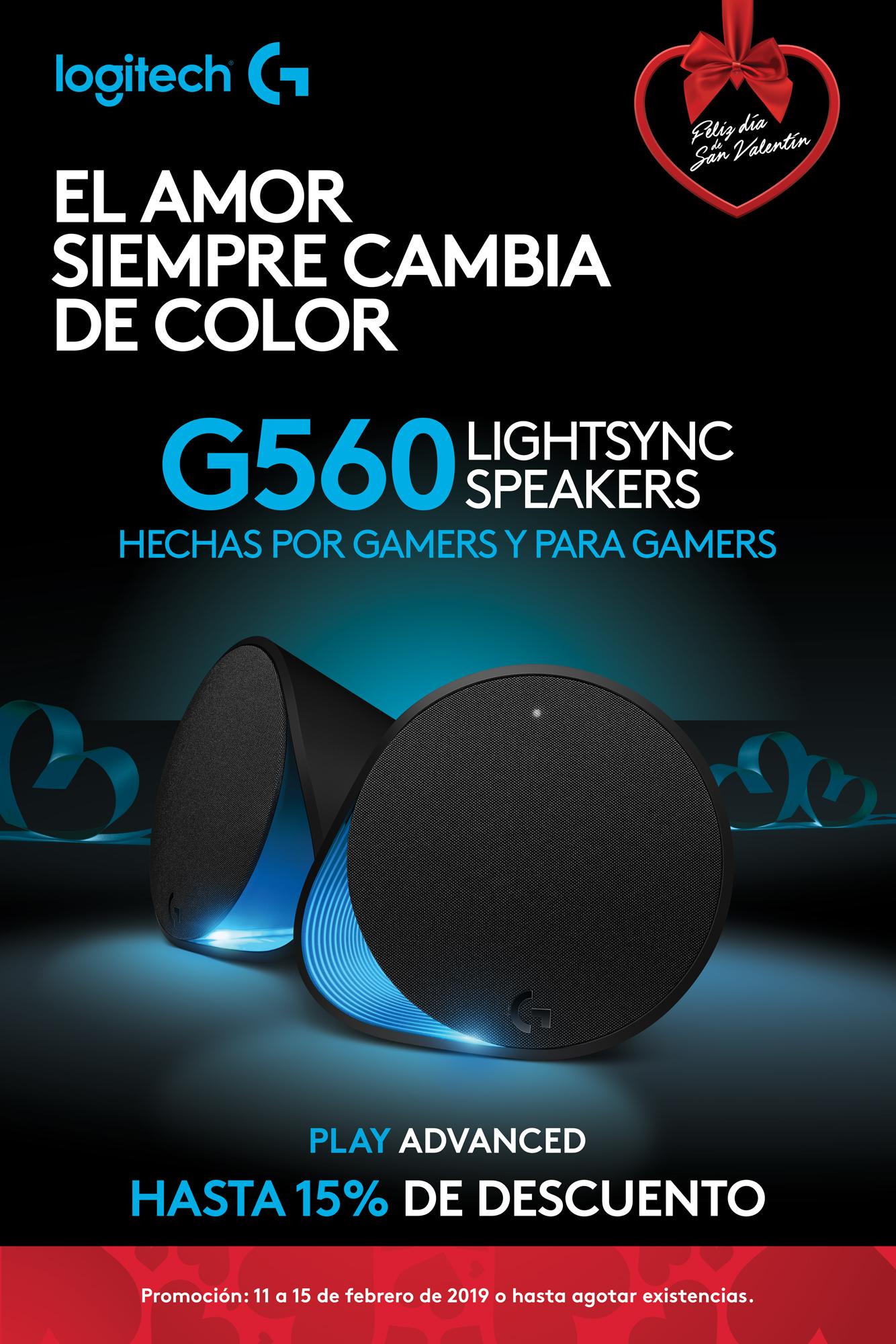 Promo G560 - Bocinas para gaming - Logitech G