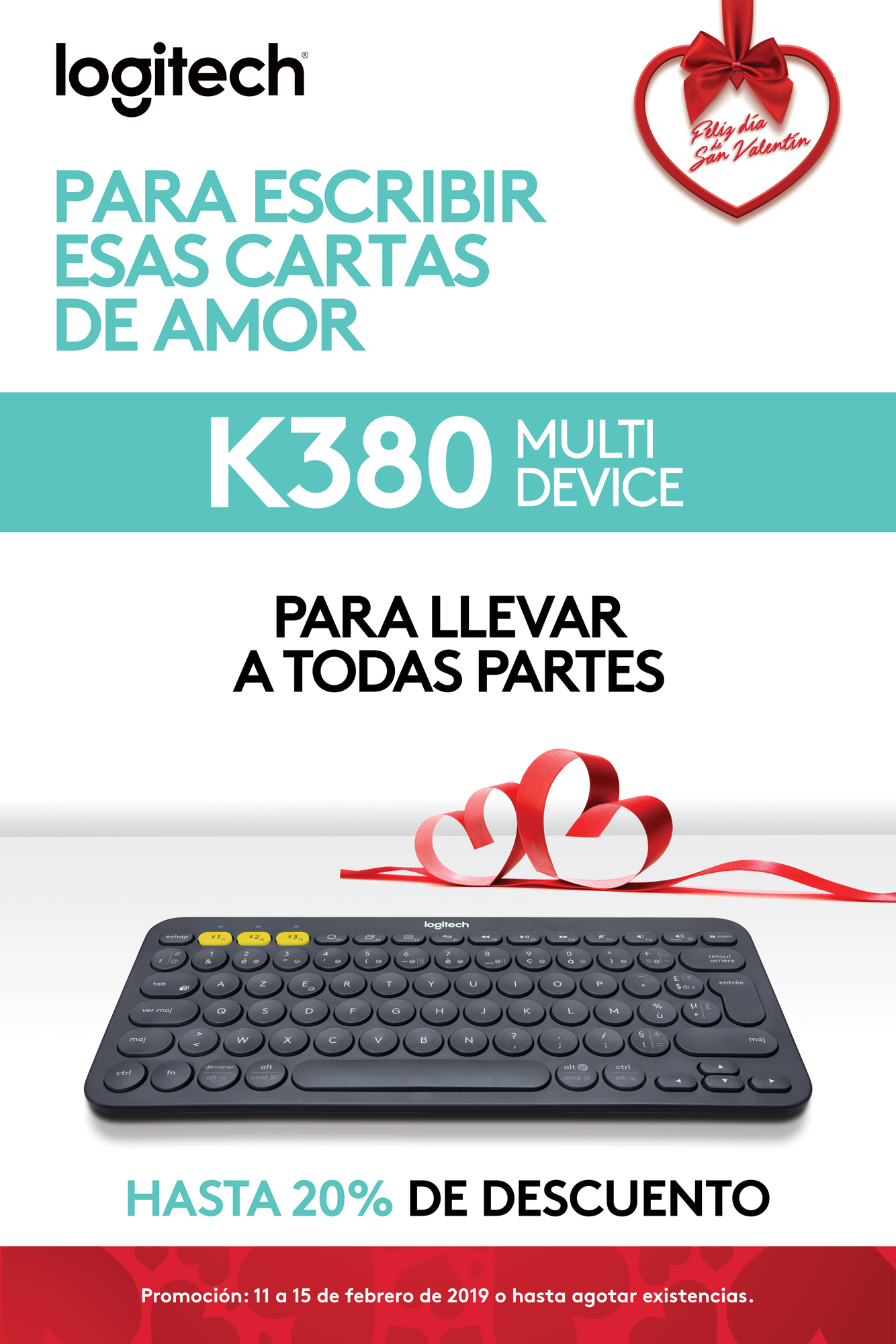 Promo K380 - Teclado Multidivice - Logitech