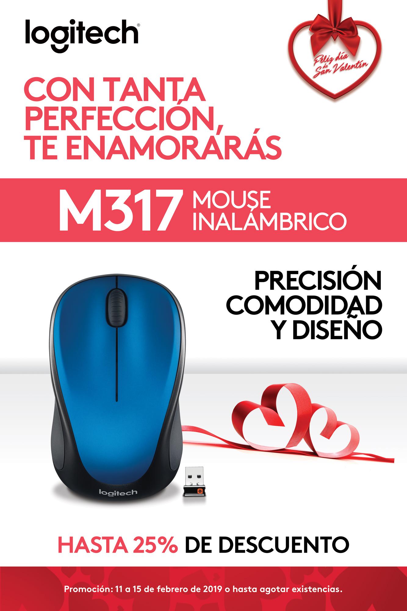 Promo M317 - Mouse inalámbrico - Logitech