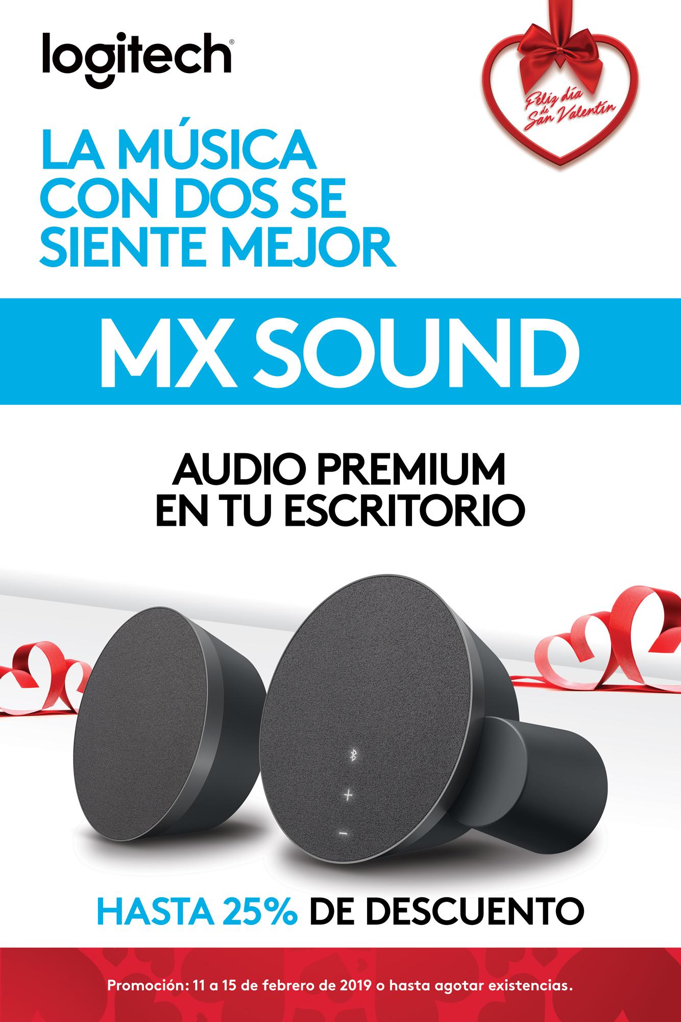 Promo MX Sound - Bocinas - Logitech