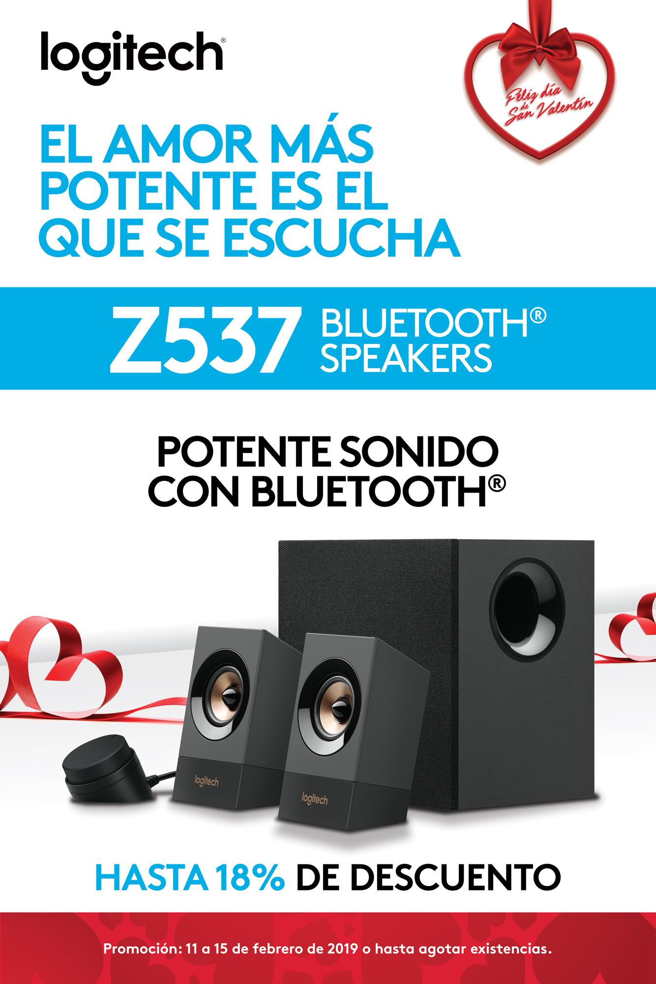 Promo Z537 - Bocinas bluetooth - Logitech