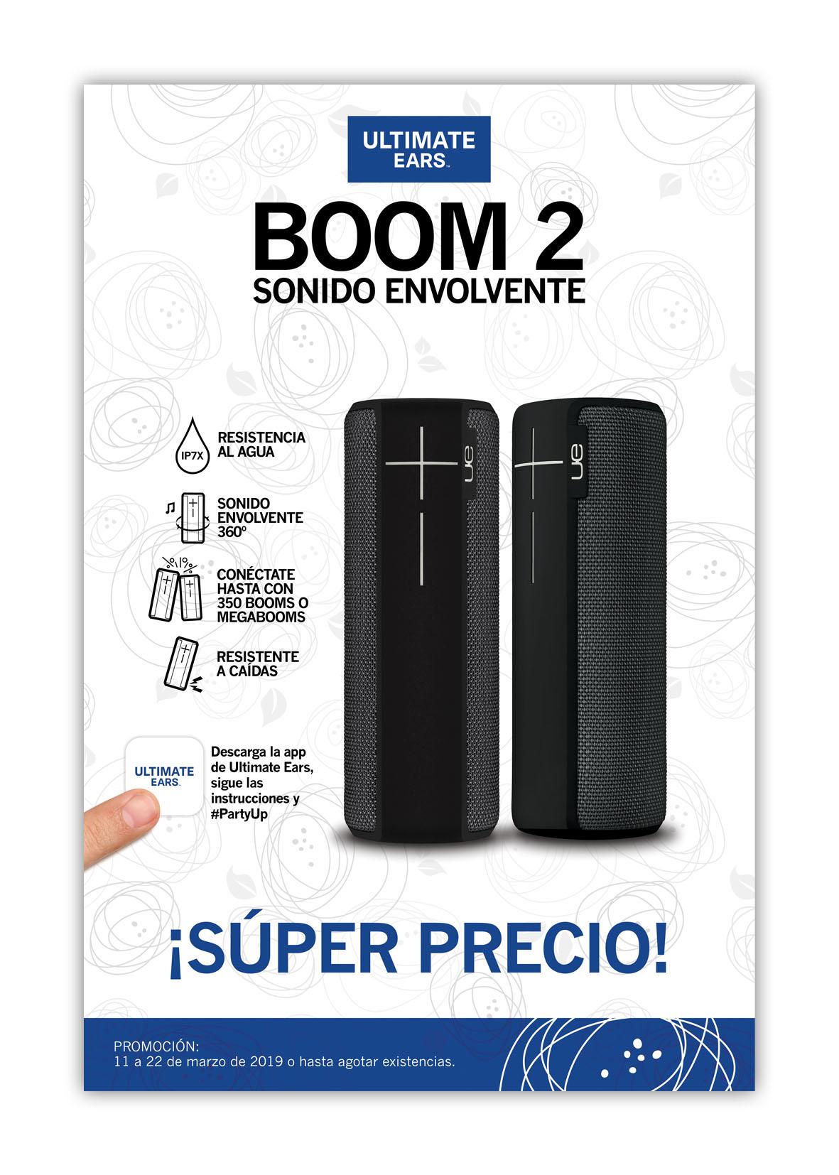 Poster Marzo Boom2 Negra 32x48cm MUESTRA